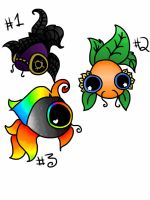 Adopt a Fishie! (CLOSED) by TinyFurrTails