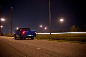 Xrunner Night Shoot 1 by motion-attack