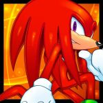 Knuckles The Echidna(Guardian of the Master Emera) by CristianHarold0000