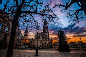 Cathedral of the Holy Trinity II - Dresden by Torsten-Hufsky