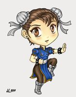Chun Li by blackpapyrus