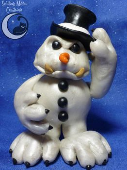 The Frosty Snowman by SmilingMoonCreations
