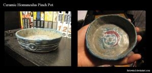 FMA - Homunculus pinch pot by FerioWind