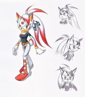 Mirage - a Sonic OC by magier