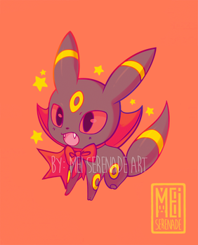 Umbreon Key Charm Design by MEISerenade