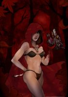 the Red riding hood... by Arioanindito