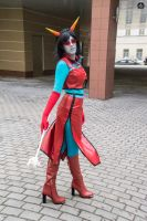 Homestuck Redglare Cosplay by Sioxanne