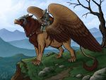 Griffon Rider by Nightlyre