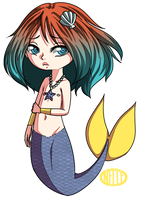 chibi commish 9 by SuperNelle