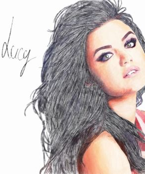 Lucy Hale by Blossom93