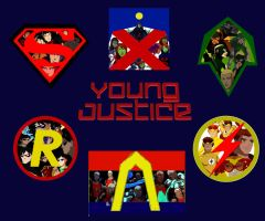 The Original 6 of Young Justice by KikaKatTIOI