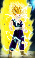 Gohan Super Sayain 2 by the103orjagrat
