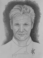 Chef Gordon Ramsay by 12monthsOFwinter