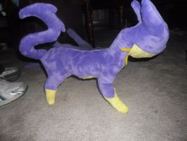 WIP Liepard plush 2 by SuperSonicFireDragon
