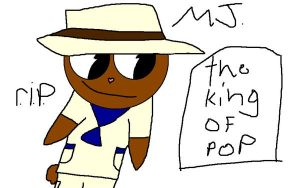 the king of pop MJ htf style by pikichu99