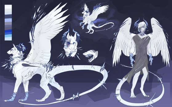 Design Commission:. Glass shard creature by Remarin