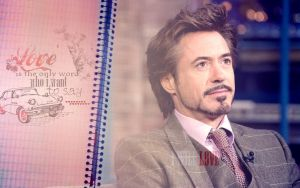 Robert Downey Jr Love by Anthony258