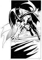 Neal Adams Batman by donchild