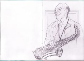 Charlie Parker by rafael-pires