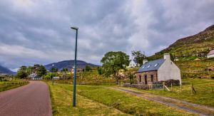 Cottages in Torridon, Scotland by Raiden316