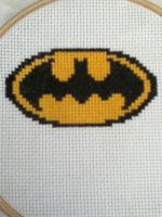 Batman X Stitch by geek-stitch