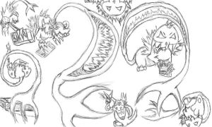 Cyx - Breed - Sketches by Ropeu