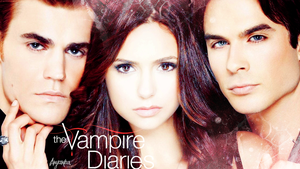 The Vampire Diaries Wallpaper by theanyanka