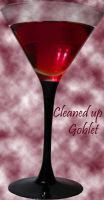 Goblet cleaned-up stock by AnnFrost-stock