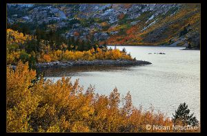 Lake Sabrina Fall Colors by narmansk8