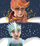 ROTG - RS Taken By Storm, Jace Flame, Frostianna. by firecrystal1092