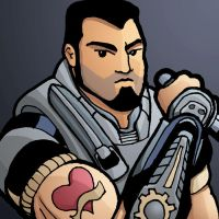 Gears of War's Dom Color by whipsmartbanky
