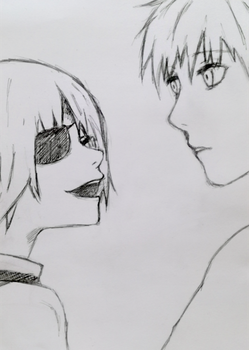 #18 Ken Kaneki and Tooru Mutsuki by take03