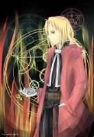 Edward Elric by marymarhta