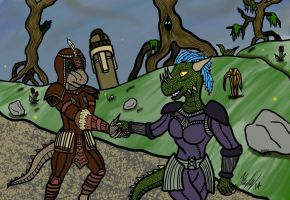 Tour of Black Marsh by kayly101