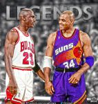 1993 NBA Finals: Legends by lisong24kobe