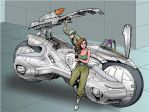 speeder bike by taiyosagawa