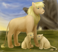 Lion KingxHetalia by Midoromi