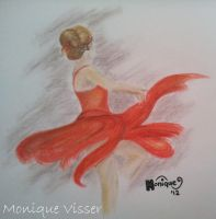 Ballerina by Monique-Art