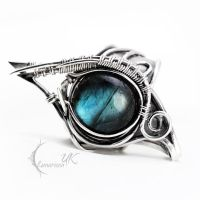 ZARDGHAR - silver and labradorite by LUNARIEEN