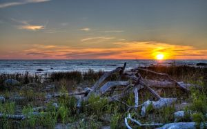 MacGregor Point Sunset 2 by Jon-A