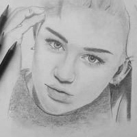 Miley Cyrus by claudaladywizard