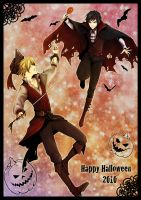 DRRR - Halloween 2010 by pianopear12