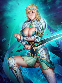 The great warrior, Ivana by Moonarc