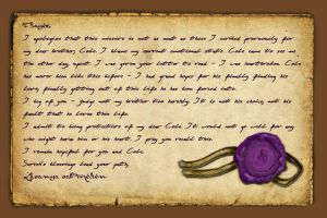 To Craft a Letter by SparrowsHellcat