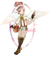 Cherim Collab - Spring Bouquet {CLOSED} by Kiwi-adopts