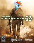 Rainbow Dash in MW2 (FINALLY OUT) by mounstroso