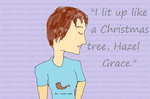 The Fault in Our Stars ~ Hazel Grace by NotCharliestillcool
