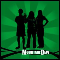 Mountain Dew Vector Art by BlackLithium