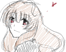 Paint_Sketch_Rurin_Kisaragi by RuriChanBluewing