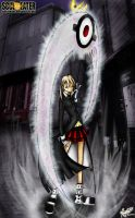 Maka and the Witch Hunter by nelsonaof